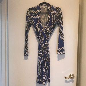 DVF New Jeanne Two Wrap Dress